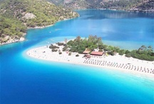 """Fethiye TURKEY /  Fethiye offers something for everyone from sun soaked beaches to its dramatic coast line, caves and mountains.  It has in recent years become a major real estate industry but manages to remain a Turkish market town.  Take a climb up to the main Lycian """"rock tomb of Amyntas"""" and take in the amazing views of Fethiye marina and the whole of the bay.   It's a perfect base to visit the ghost town of Kaya Köyü or Kayakoy"""