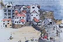 Lovely sketches of cornwall