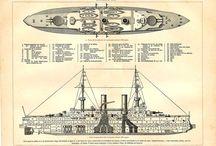 Vintage ship print / by Sylvie Marcotte