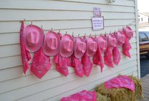 Cowgirl birthday parties