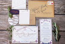 Organic - Vintage - Modern Wedding Inspiration Board / - Weddings - Organic - Vintage - Modern