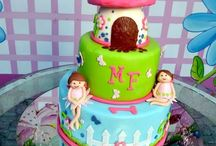 fairy, princess and mermaid cakes / by Kate Savige