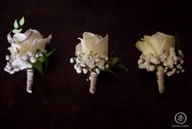 Wedding Buttonholes / Wedding day buttonholes for groom, best man and wedding guests