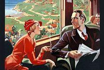 Vintage Train Travel