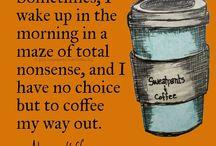 Well, because coffee / by Jenn Cruz