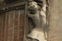 statues et architectures