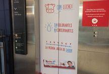 Publicidad en Ascensores y escaleras Mecanicas
