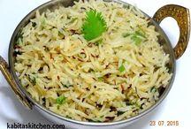 Jeera Rice Recipe / #IndianRecipe #HindiRecipe #JeeraRice