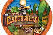 VBX 2017: Cactusville / Find inspiration for hosting a Cactusville VBX/VBS program.