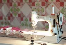 sewing machines / by Lisa