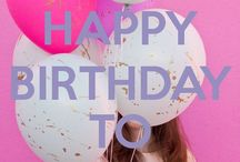 It's my birthday 29 August