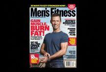 Men's Fitness Cover Shoot - April 2010