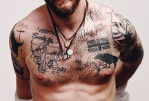 Eye Candy / Ok...so I may have a thing for bearded guys.  And hairy guys. And guys with tattoos...and hairy, tattooed guys with beards. / by cathy ames