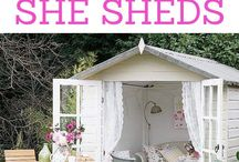 She shed for fun