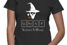 Gandalf Science T-shirt