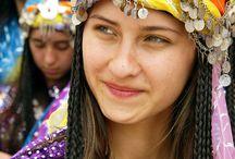 All folked up / Folk art costume music ect