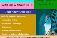 Study in USA with OR without IELTS