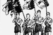 Guides et Scouts d'Europe / Le beaussant, le béret, le short bleu marine : les scouts d'Europe par Pierre Joubert.