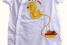 Colección Pollito / Prendas para #bebes, con calidad y diseño. Fabricadas en 100% algodón en Portugal por Girandola.