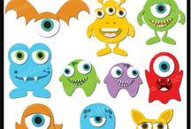 příšerky (monsters)