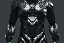Mechs, Cyborgs and other future equipment.