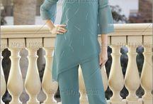 Slack suits  & Abayas/Caftans