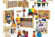 Pre School classroom layout