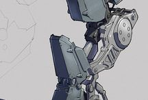 Mech, Robots