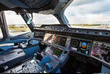 UI / airplane cockpit