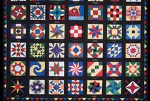 Barn Quilts / Quilts on the side of barns and buildings