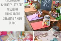 Children at Weddings | Games & Decorations