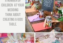 ŚLUB - DEKORACJE - Stolik dla dzieci