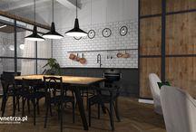 Kuchnia / Projekty wnętrz on-line - kuchnie.