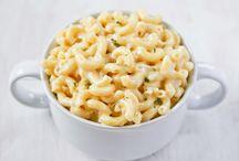 Mac and cheese white