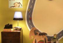 Conners big boy room / by Jodi D'Amico