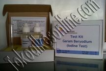 Test Kit Iodine Garam Beryodium
