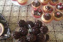 Cup cake & Damla çikolatali kurabiye / Cup cake & Damla çikolatali kurabiye