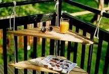 Kis balkonok, nagy ötletek / Kis balkonok, nagy ötletek További ötletek: http://balkonada.cafeblog.hu/2015/07/28/helytakarekos-asztalok-kis-erkelyre/