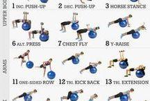 バランスボールトレーニング
