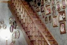 Dollhouse Entrance Halls & Staircases