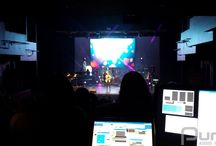 Sandra Faire Theatre At York University - October 3, 2014 / This was a setup for Arcadia School Of Music inside the Sandra Faire Theatre At York University. You will get to see 8 Martin MH3 moving heads and 60 7mm LED panels.