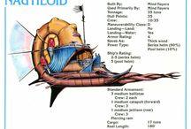 Spelljammer Ships / Description sheets of Dungeons & Dragons Spelljammer's ships