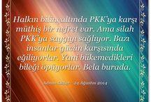 Adnan Oktar'ın değerli sözleri