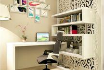Escritório em sala