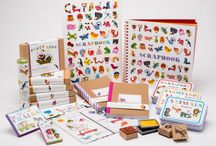 Alain Gree Stationery / Welcome to Gnu's exciting range of children's stationery from internationally acclaimed French illustrator Alain Grée.   This fresh and distinctive collection is not only beautiful, bright and carefully-made, but it also educationally sound and provides ideas for activities to engage children and develop their creativity and imagination.  Comprising of stamp sets, invitation and thank you cards, scrapbooks, stickers, coloured pencils and notebooks, the range is aimed at children from 2-8 years.