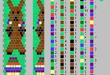 Vzory na háčkované náramky
