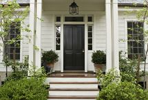 Exterior house colors / by Annette Dahl