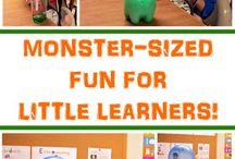 Tot School: Monster Week