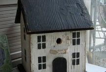 domki dla ptaków i owadów
