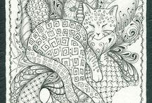 Zentangles / by Caprilicious Jewellery